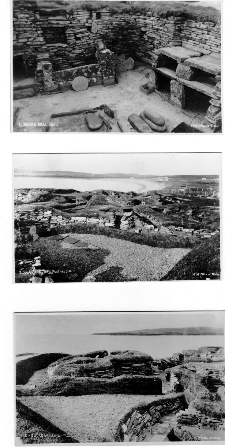 Skara Brae postcards 1/2
