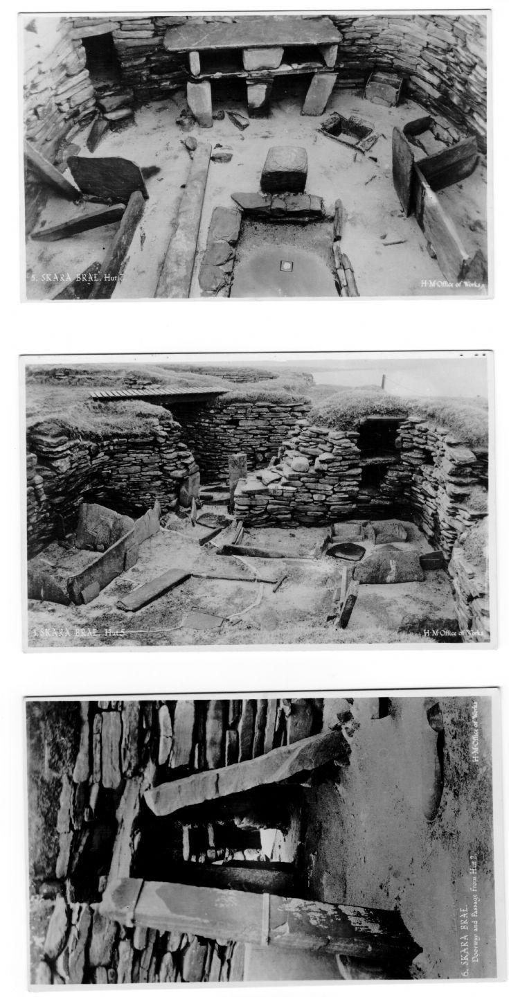 Skara Brae postcards 2/2