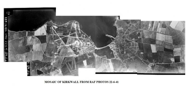 RAF pictures of Hatston and Kirkwall