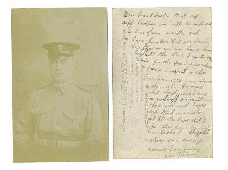 Australian soldier prior to Dardanelles
