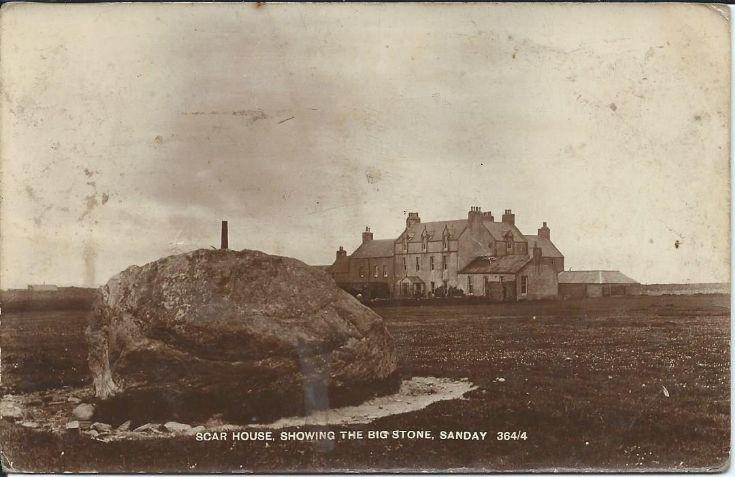 Scar House & big stone
