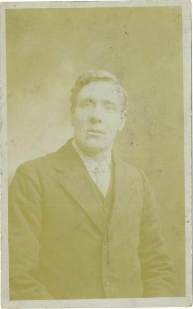 Robbie Muir of Upper Breckan, Burness