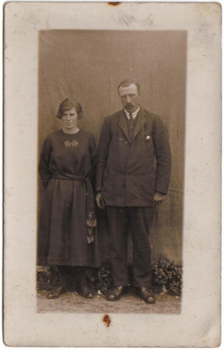 Mary Ann Thomson and John Tulloch wedding