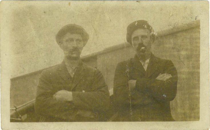 Wullie Meil and John Tulloch of Upperhouse