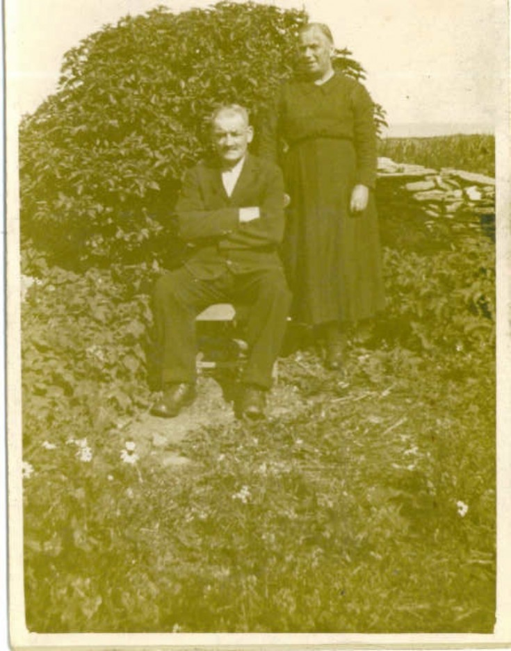 John and Jean Peace, Sponess, Westray