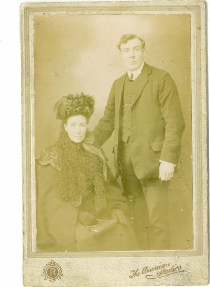Mr & Mrs Robbie Muir of Upper Breckan