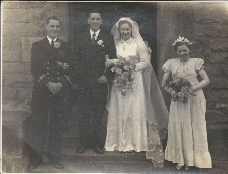 Mystery wedding photo with Sanday connection?