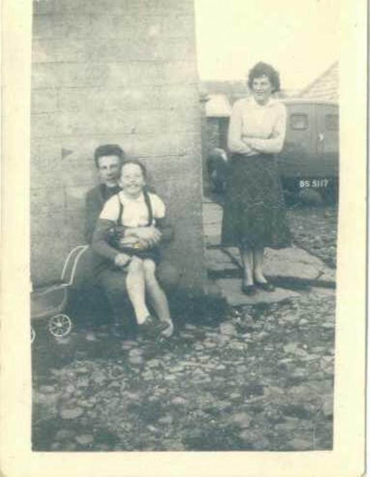 Jim Towrie, Barbara Kylloch? & Margaret Towrie