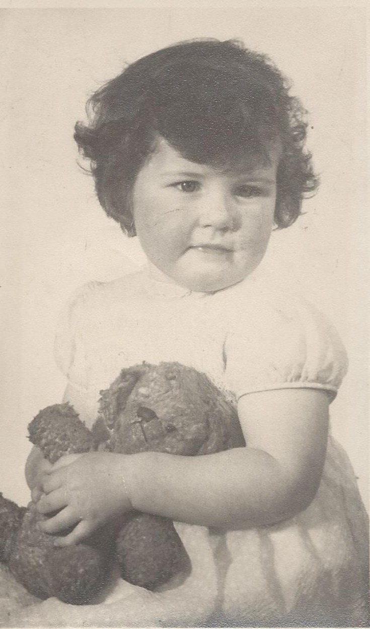 Mandy Towrie. daughter of Wullie Towrie, Sanday