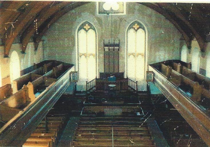 Interior of East Kirk, Sanday