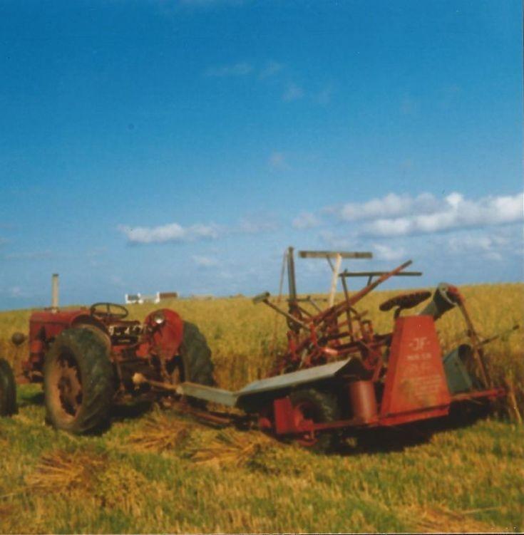 Reaping, Harper's Field, Quivals Farm