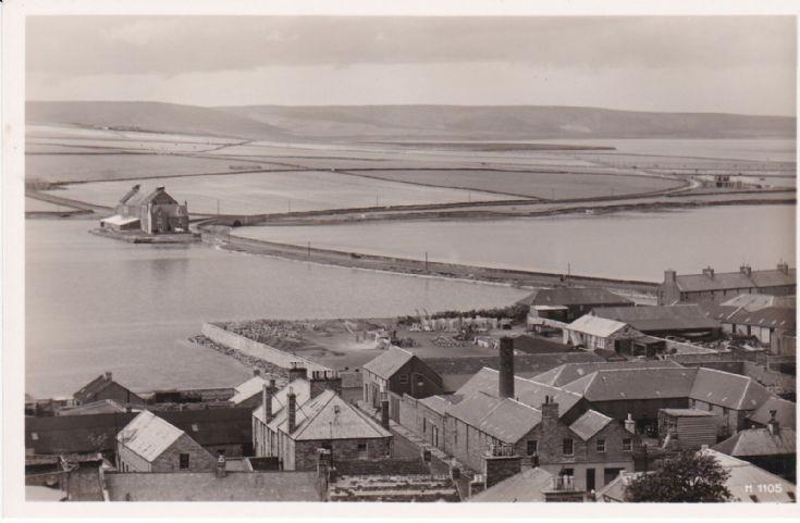 A rare view of Hatston