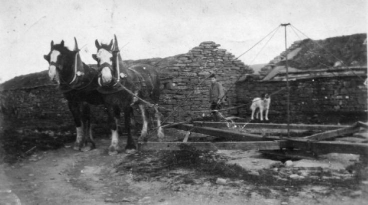 Horse mill in Harray