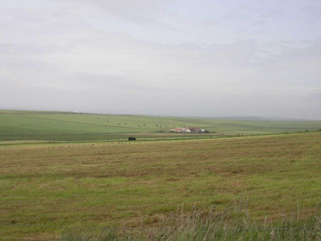 July 2004, Looking NW from Rapness, Westray