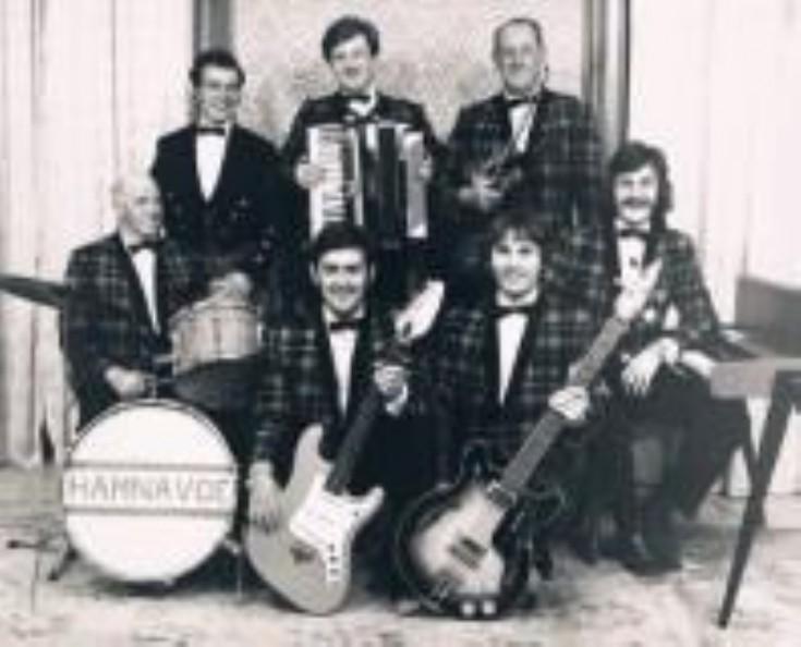 Hamnavoe Dance Band - probably around 1972