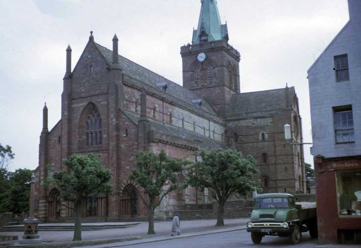Cathedral in the 1950s