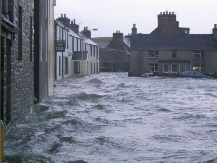 Flooding in the Hope