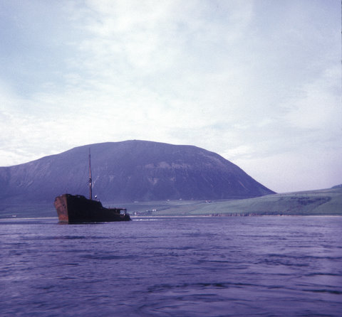 Block Ship, Hoy Sound.