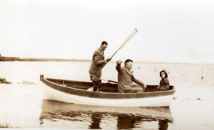 Fishing on Harray