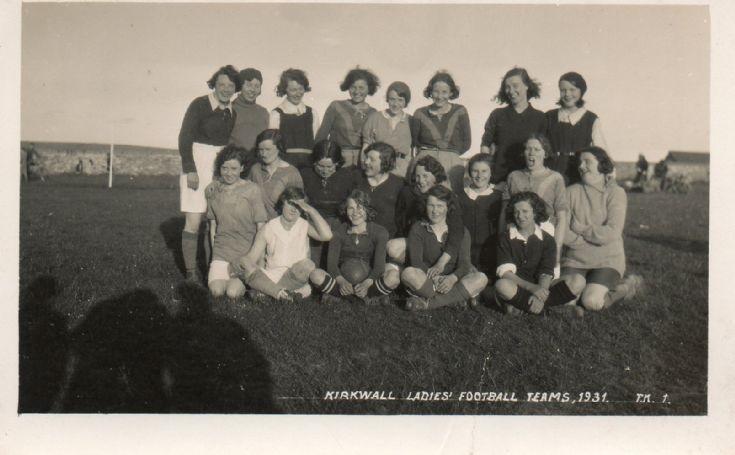 Kirkwall Ladies Football Team