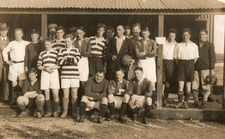 A third Stromness football picture