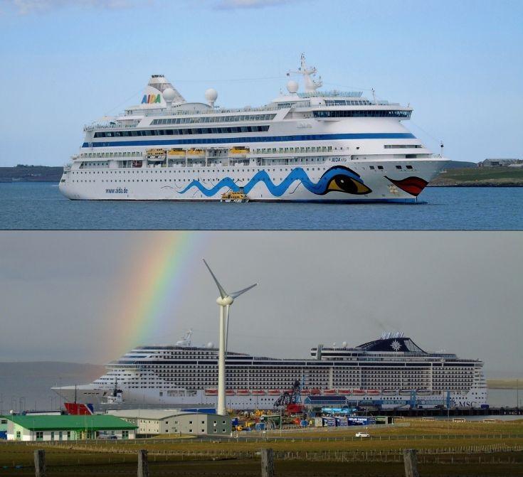 Visiting cruise-ships 30 April 2016