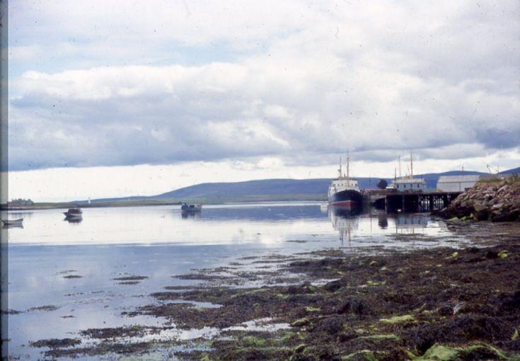 Stromness Harbour 1965