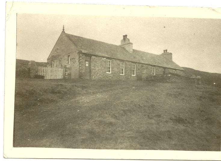 Frotoft school house, Rousay