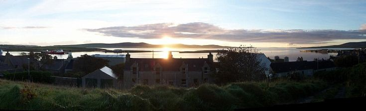 Sunrise from Whitehouse Stromness