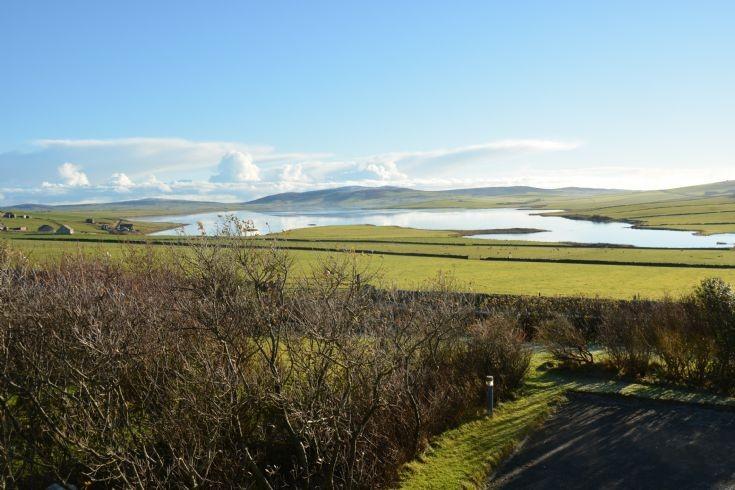 Stenness Loch taken from Voy Brae