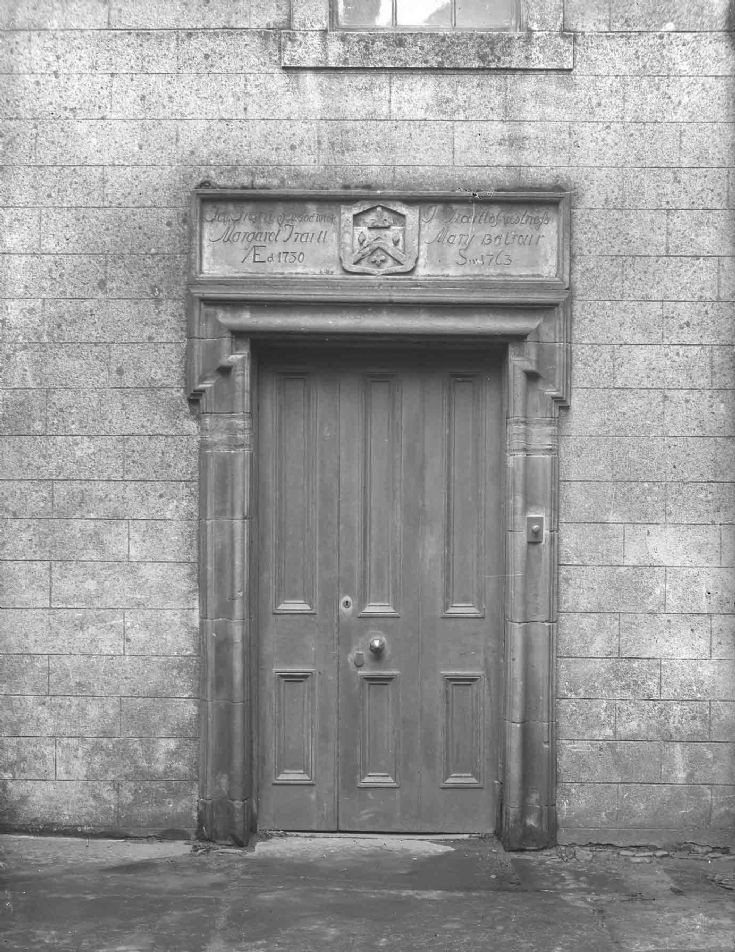 Doorway to The Gallery, Bridge Street
