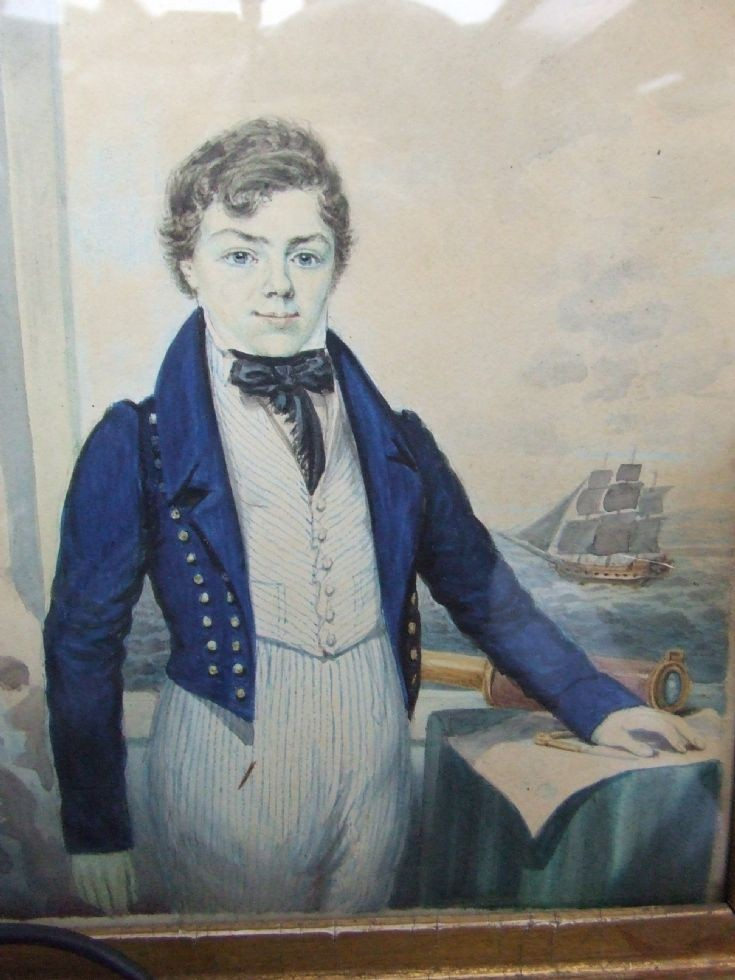 Painting of George Thomas Mainland born 1811