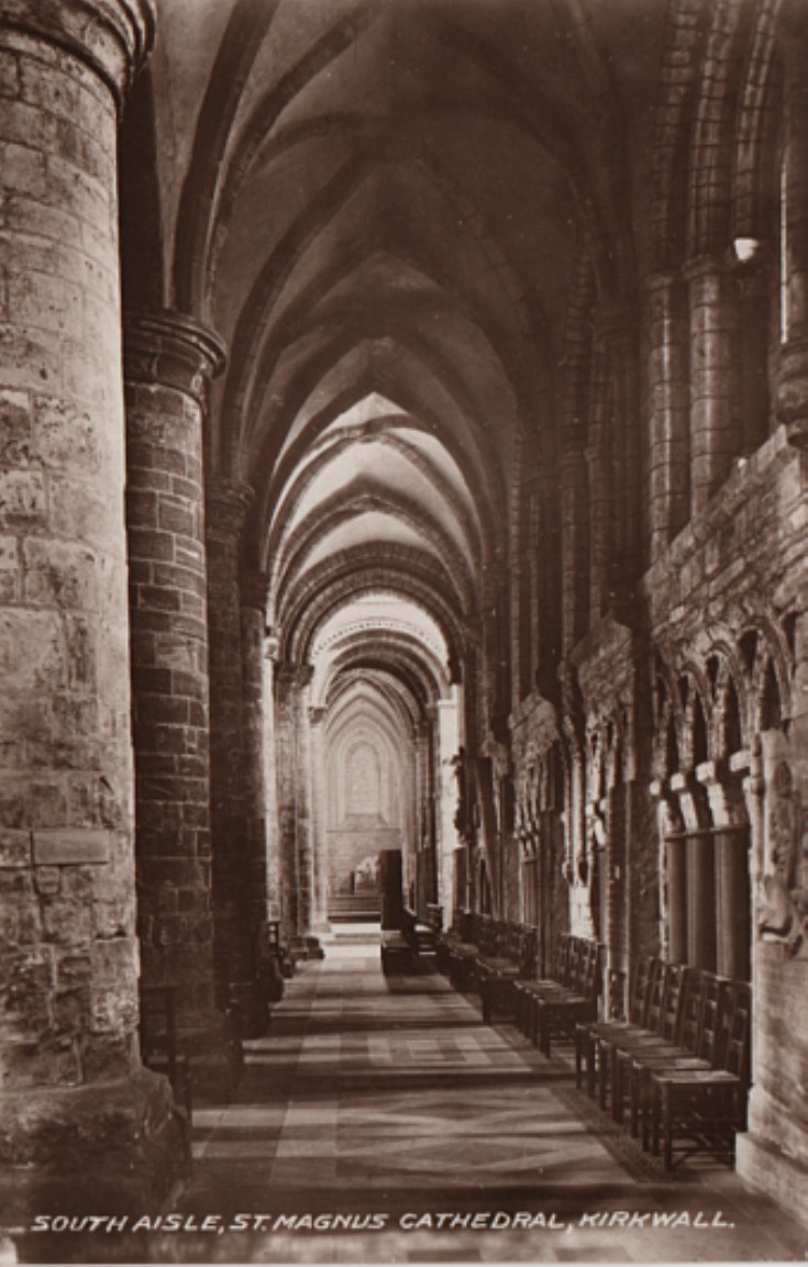 South Aisle, St Magnus Cathedral