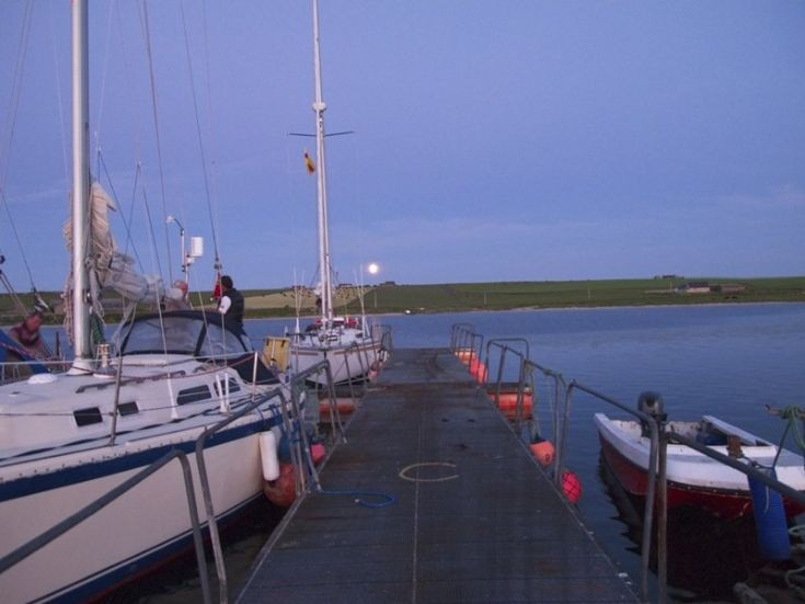 Lossiemouth yachts in Weddell bay