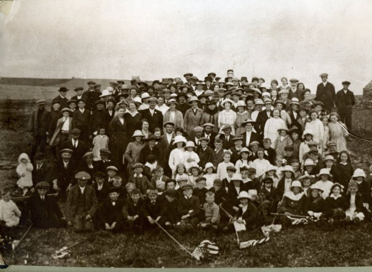 Peace Celebration Picnic, Deerness, 1919