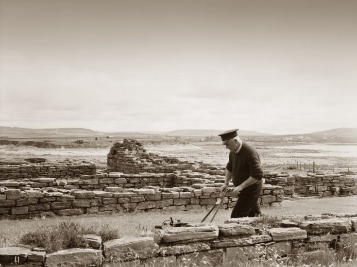 Birsay from the Brough, with Joe Matches