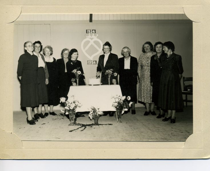 Deerness SWRI 30th Anniversary, 1954