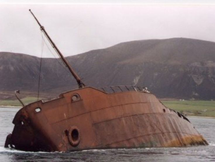 SS Inverlane before disappearing