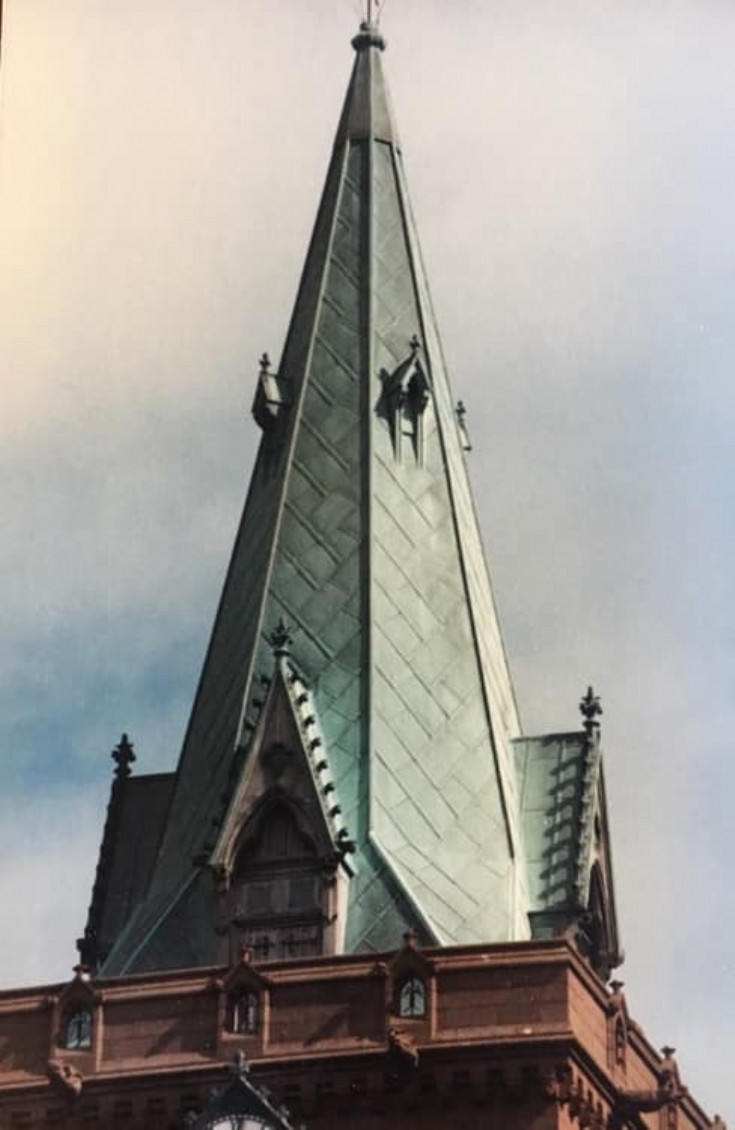 St Magnus Cathedral copper spire