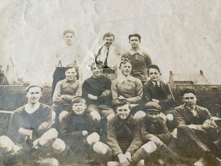 Winners in Kirkwall Burgh School Football League