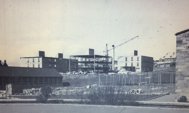Papdale Halls of Residence under construction