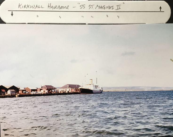 Kirkwall Harbour 1960
