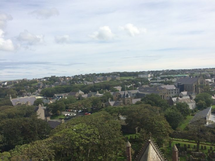 East side of Kirkwall from Cathedral