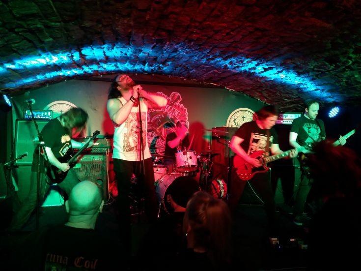 Electric Mother rock Edinburgh