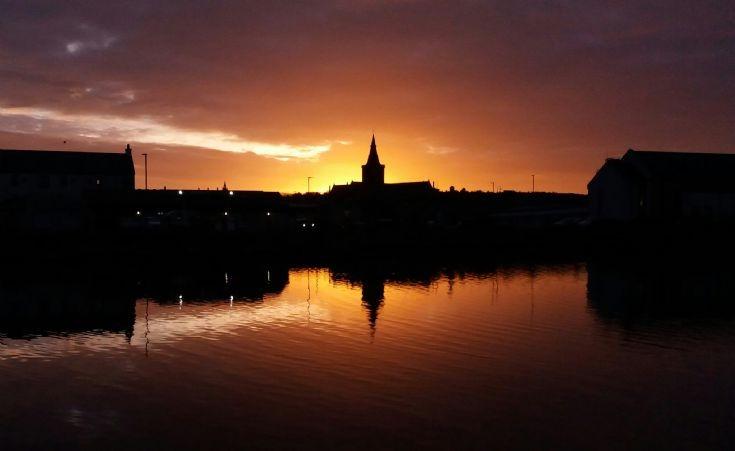 Kirkwall at dawn