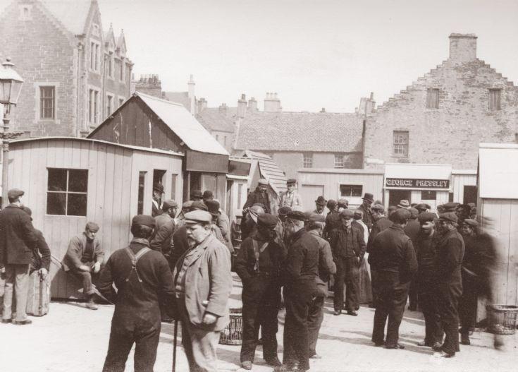 Stromness Pierhead c. 1900