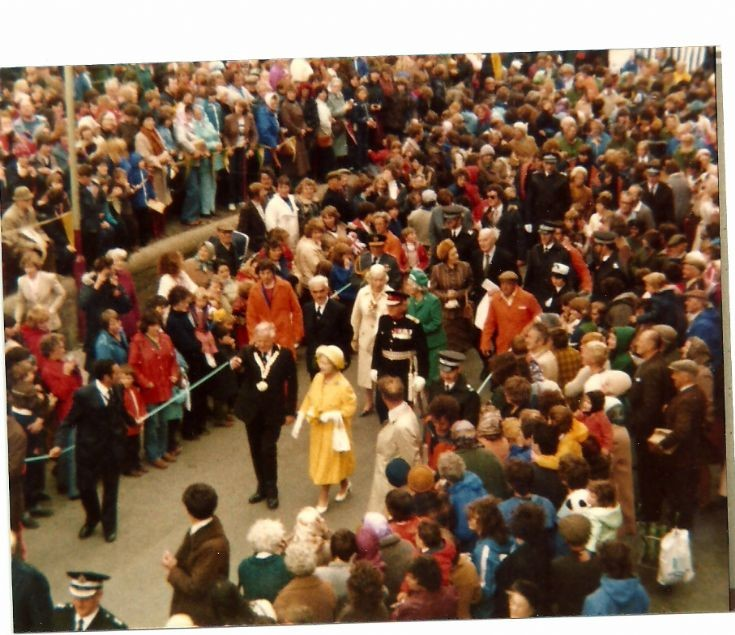 Royal visit in the 80s