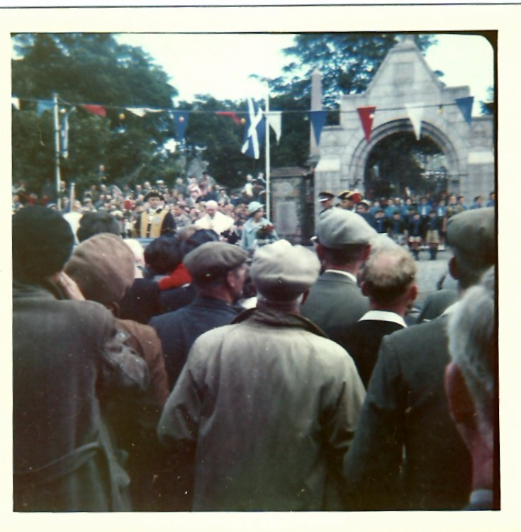 Royal visit in the 50s or 60s