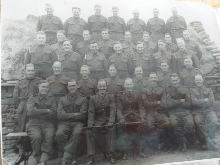 1941 Royal Artillery in Deerness