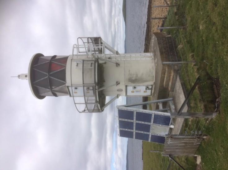 Small lighthouse on Calf of Cava